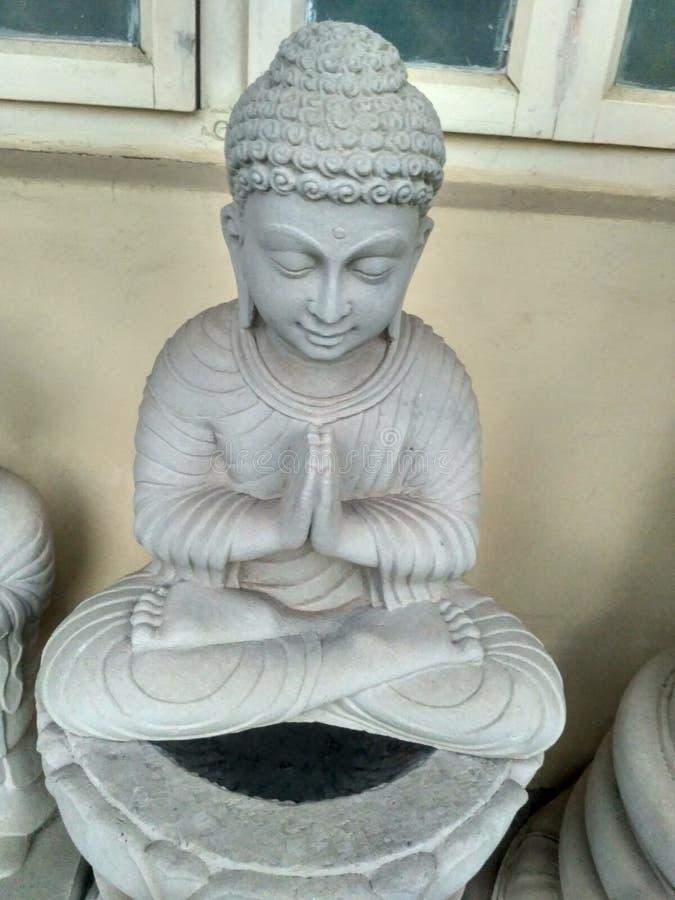 Estatua del budhha del goutam fotos de archivo