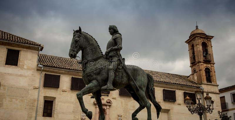 Estatua del caballo imagenes de archivo