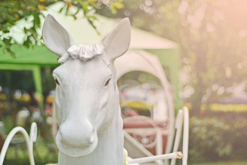 Estatua del caballo fotos de archivo libres de regalías
