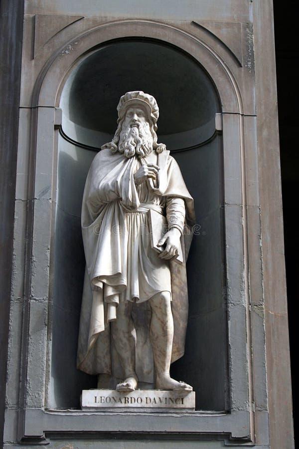 Estatua del callejón de Uffizi foto de archivo