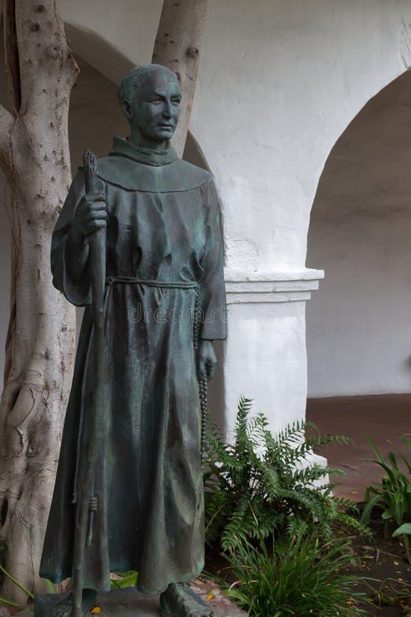 Estatua del capellán del arrabio  fotografía de archivo libre de regalías