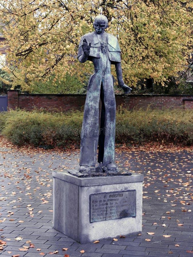 Estatua del centurión - Puurs - Bélgica imágenes de archivo libres de regalías