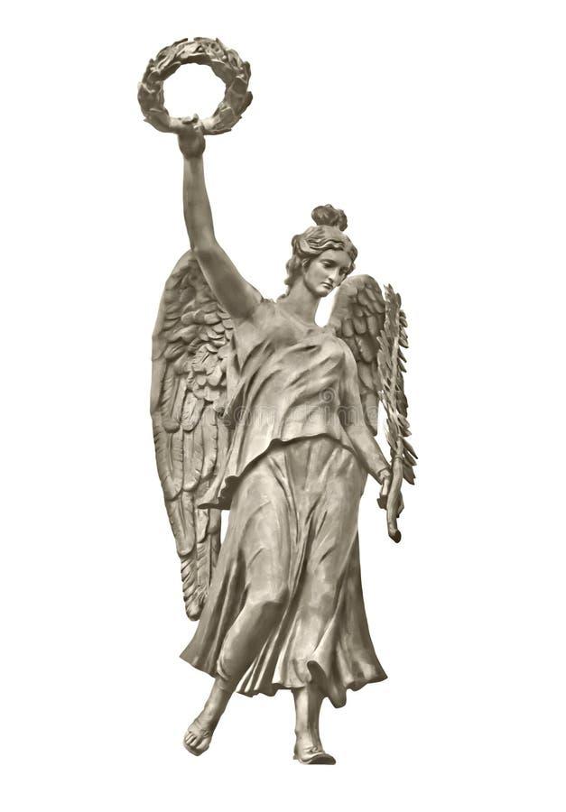 Estatua del genio de la gloria foto de archivo