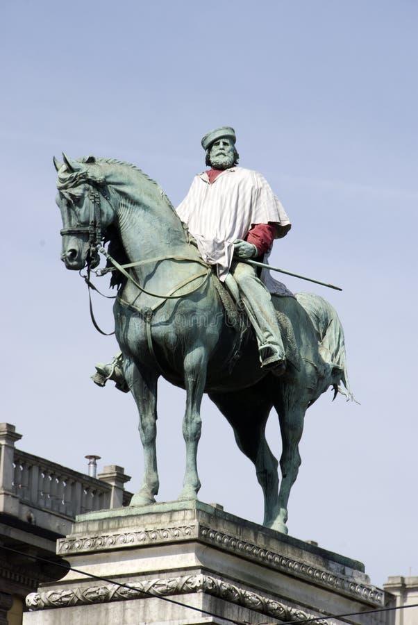 Estatua del héroe foto de archivo libre de regalías