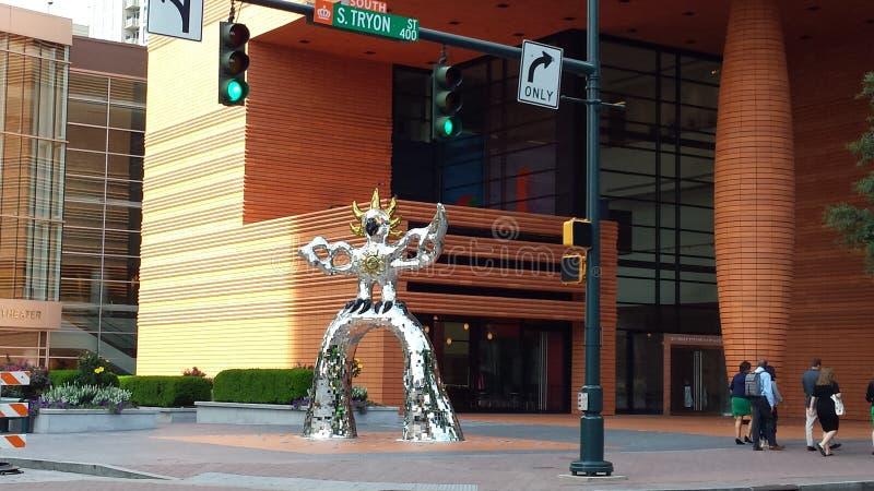 Estatua del hierro foto de archivo libre de regalías