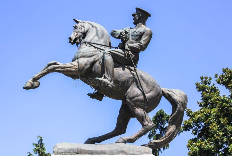 Estatua del monumento de Ataturk del honor aka en Samsun, Turquía imagen de archivo libre de regalías