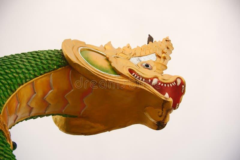 Estatua del Naga imágenes de archivo libres de regalías