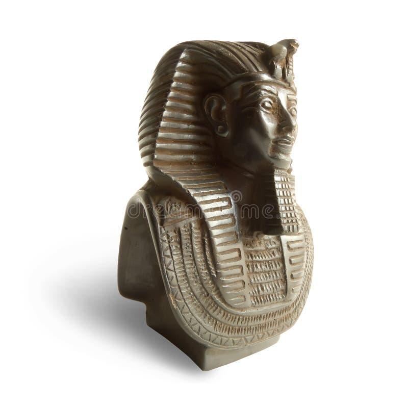 Estatua del pharaoh Tutankhamen imagen de archivo