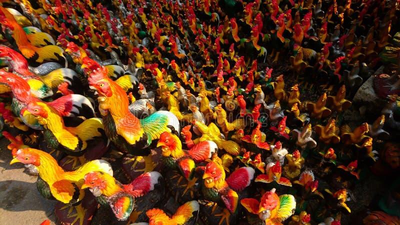 Estatua del pollo foto de archivo libre de regalías
