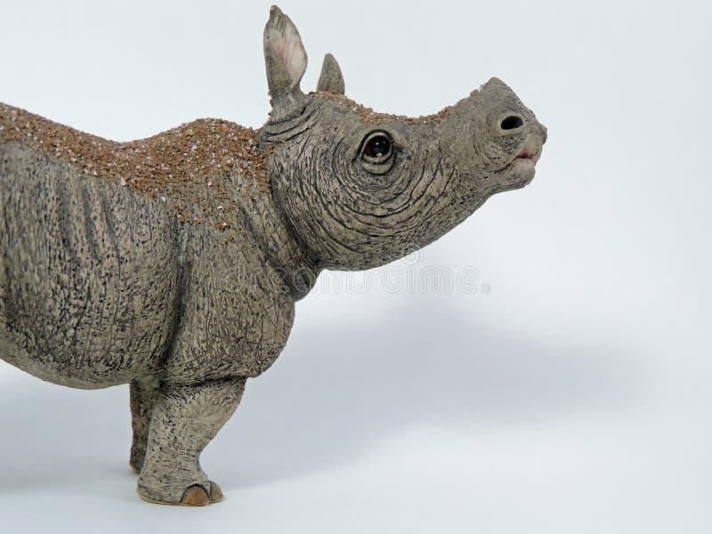 Estatua del rinoceronte fotos de archivo libres de regalías
