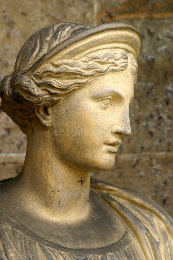 Estatua del Romanesque imagen de archivo