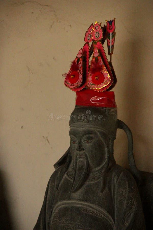 Estatua del Taoist fotos de archivo
