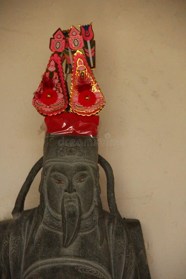 Estatua del Taoist fotos de archivo libres de regalías