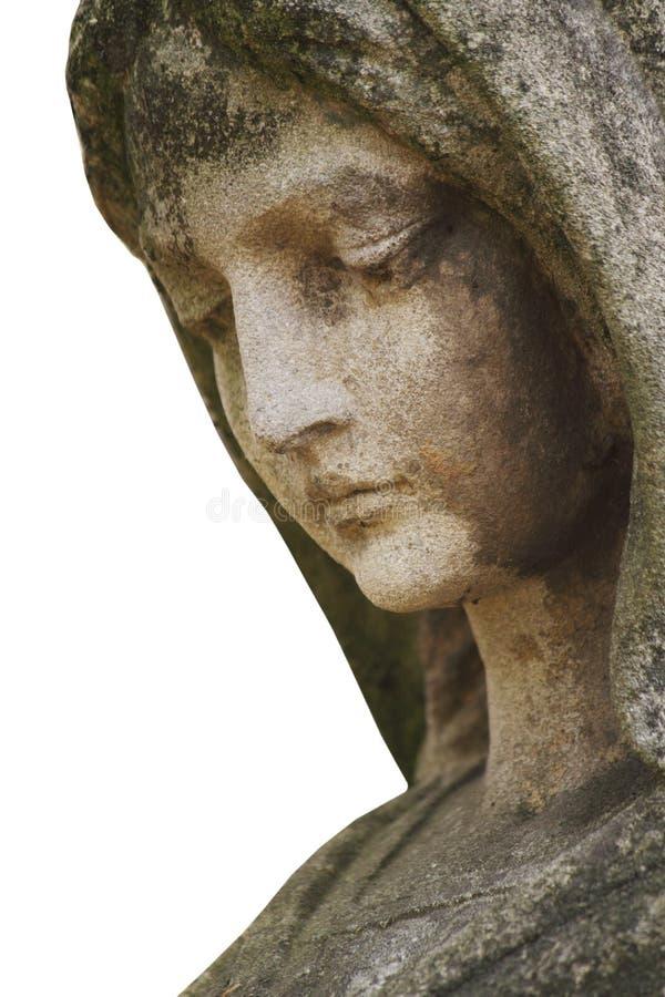 Estatua del Virgen María fotos de archivo