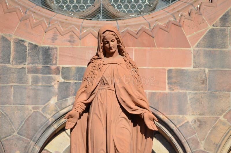 Catedral gótica de Friburgo, Alemania meridional imagen de archivo