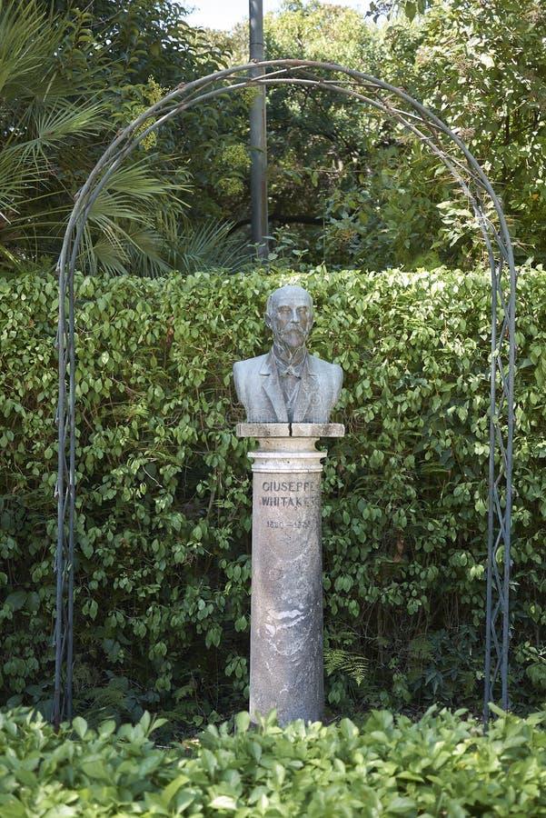 Estatua del whitaker de José fotografía de archivo