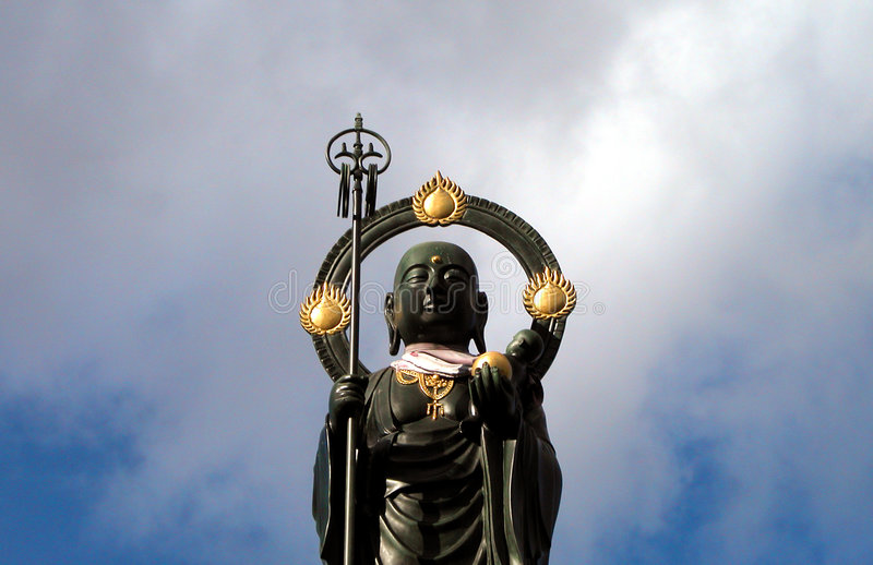 Estatua-detalle de Buddha foto de archivo libre de regalías