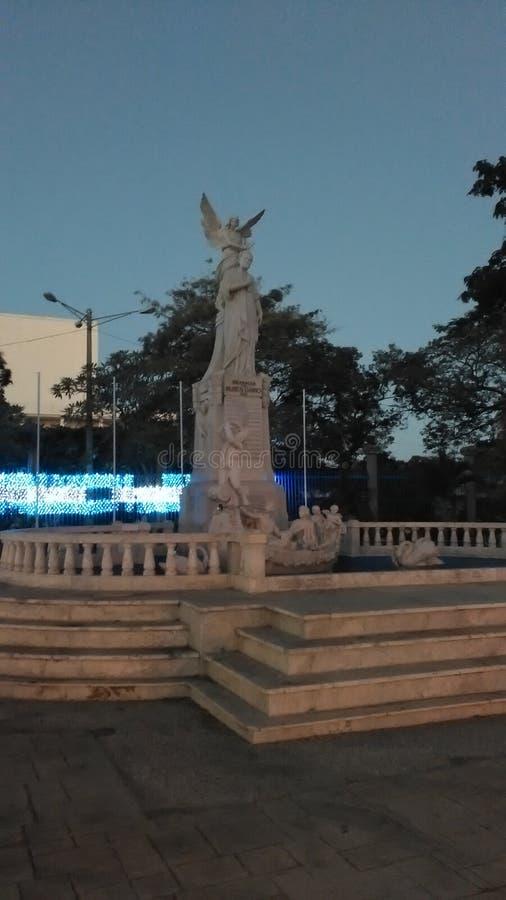 Estatua een Rubén DarÃo stock fotografie