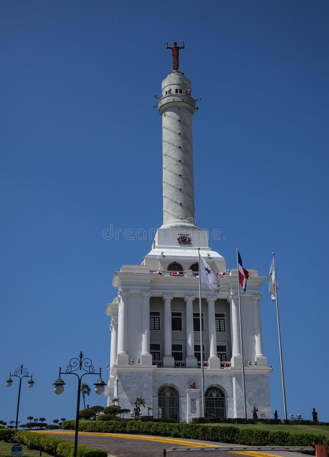 Estatua en la República Dominicana imagenes de archivo