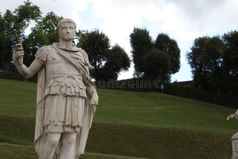 Estatua en los jardines de Boboli - Florencia, Toscana, Italia fotografía de archivo