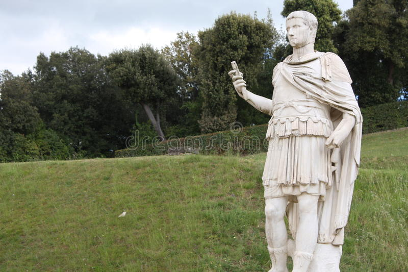 Estatua en los jardines de Boboli - Florencia, Toscana, Italia fotos de archivo libres de regalías