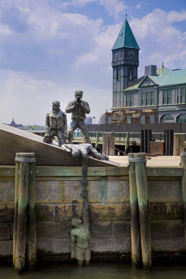 Estatua en Nueva York imagenes de archivo