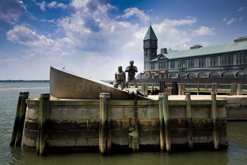 Estatua en Nueva York fotografía de archivo libre de regalías