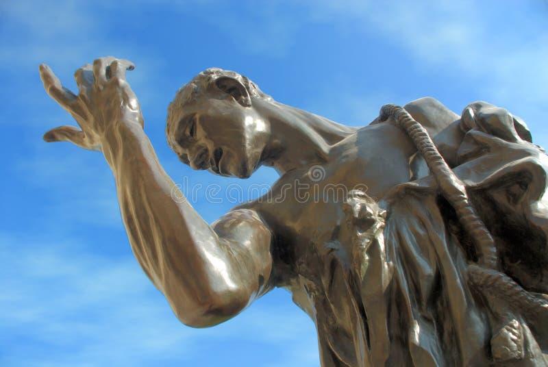 Estatua en parque público foto de archivo libre de regalías