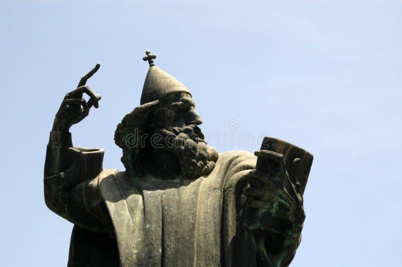Estatua famosa croatia foto de archivo