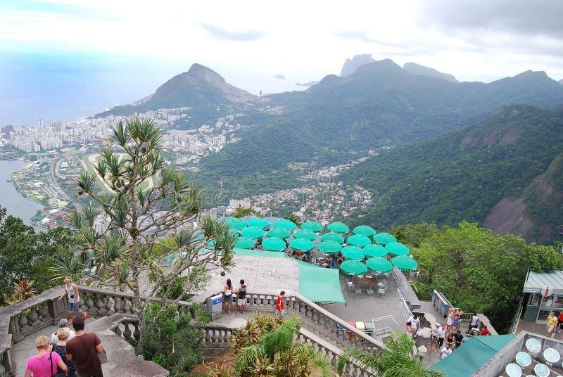 Estatua famosa del Chris en Rio de Janeiro imagenes de archivo