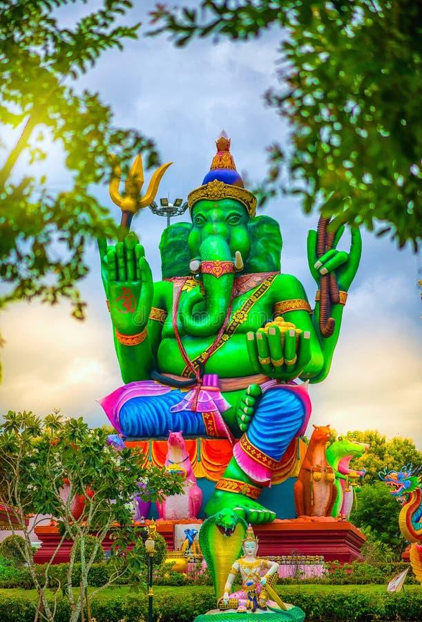 Estatua grande de Ganesh imagen de archivo
