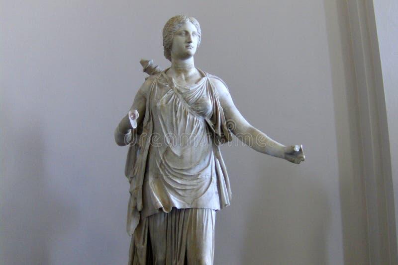 Estatua griega en el museo de Pérgamo en Berlín fotos de archivo
