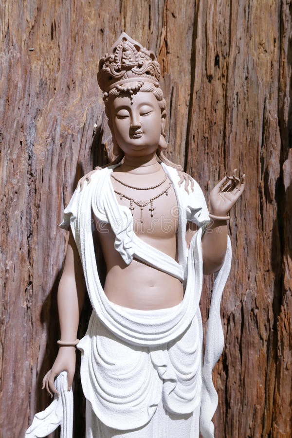 Estatua hermosa de Buddha fotos de archivo libres de regalías