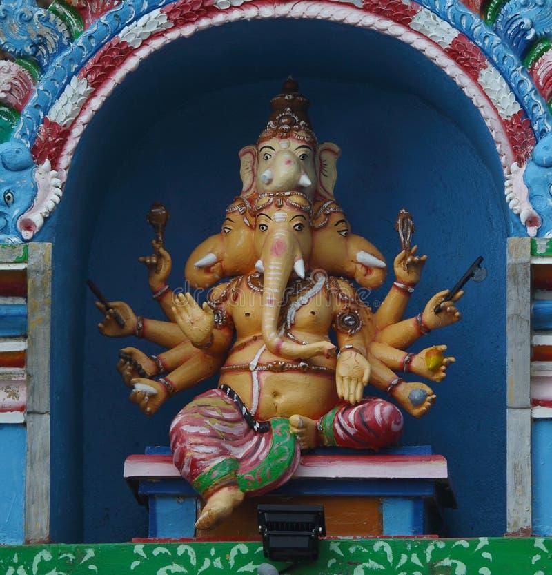 Estatua hindú del ganesha fotografía de archivo