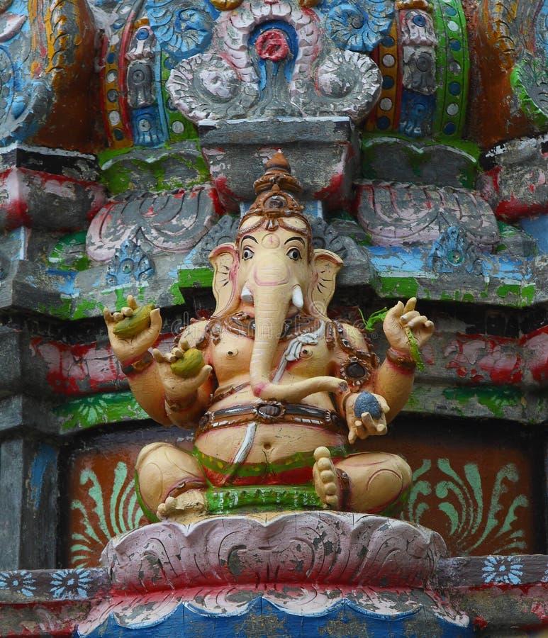 Estatua hindú del ganesha imagen de archivo
