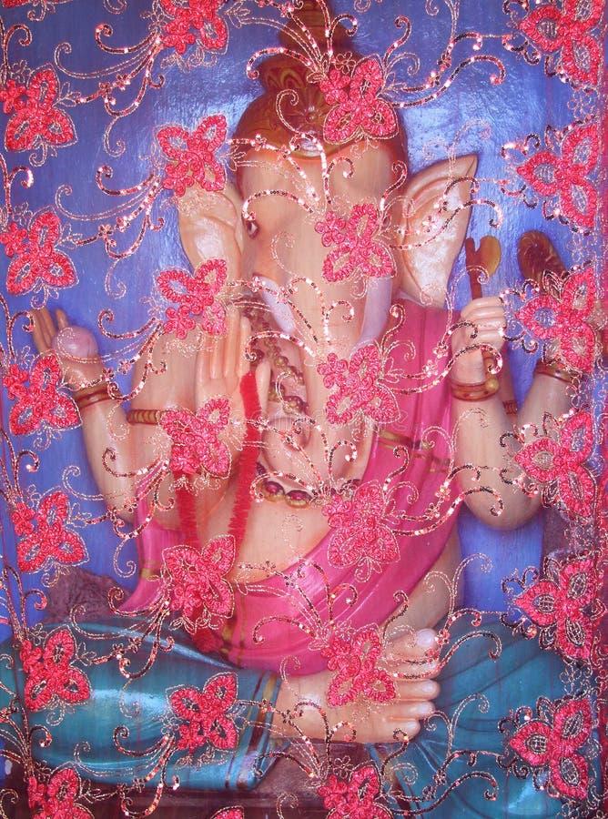 Estatua hindú del ganesha imagen de archivo libre de regalías