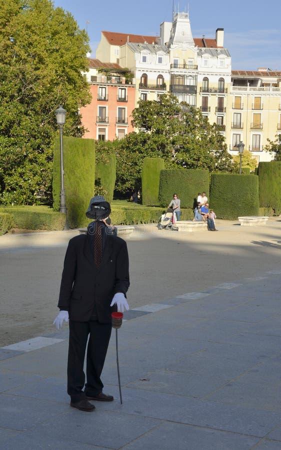 Estatua humana sin la cara imagen de archivo