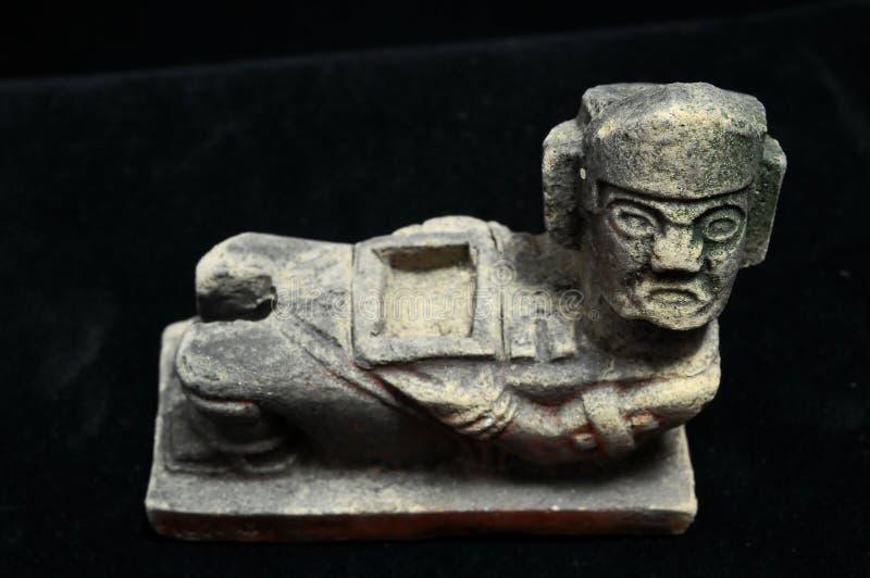Estatua maya antigua fotos de archivo