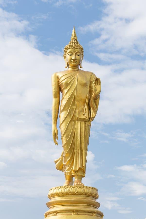 Estatua permanente de Buddha fotografía de archivo