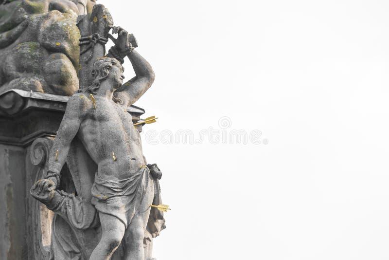 Estatua San Sebastián fotos de archivo libres de regalías