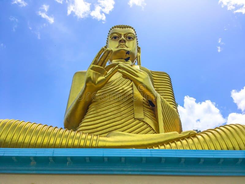 Estatua Sculpure, Sri Lanka de Buda imagen de archivo libre de regalías