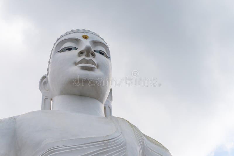 Estatua Sculpure, Sri Lanka de Buda fotografía de archivo