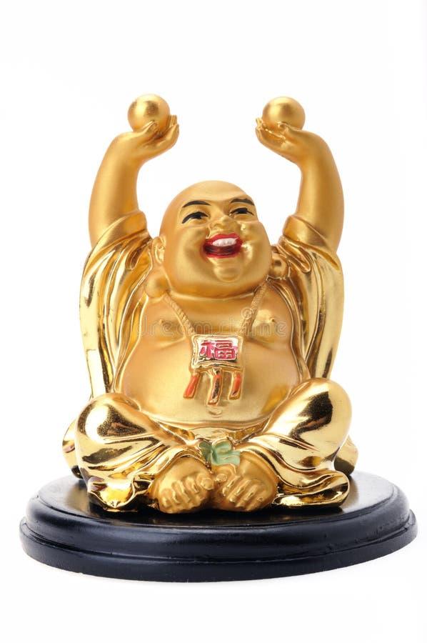 Estatua sonriente de Buddha imágenes de archivo libres de regalías