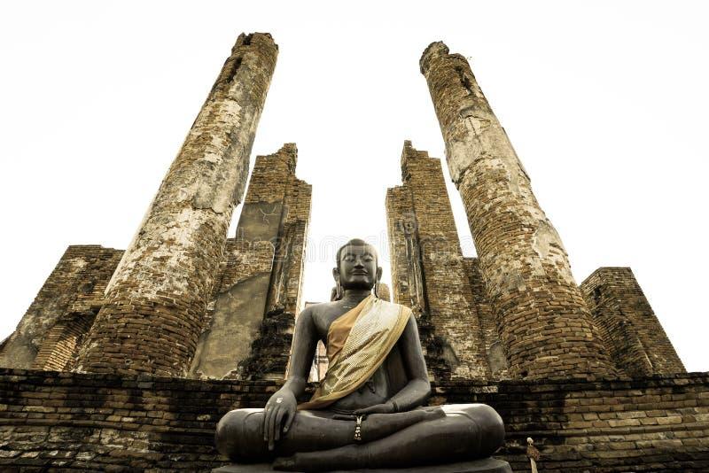 Estatua tailandesa de Buddha fotografía de archivo libre de regalías