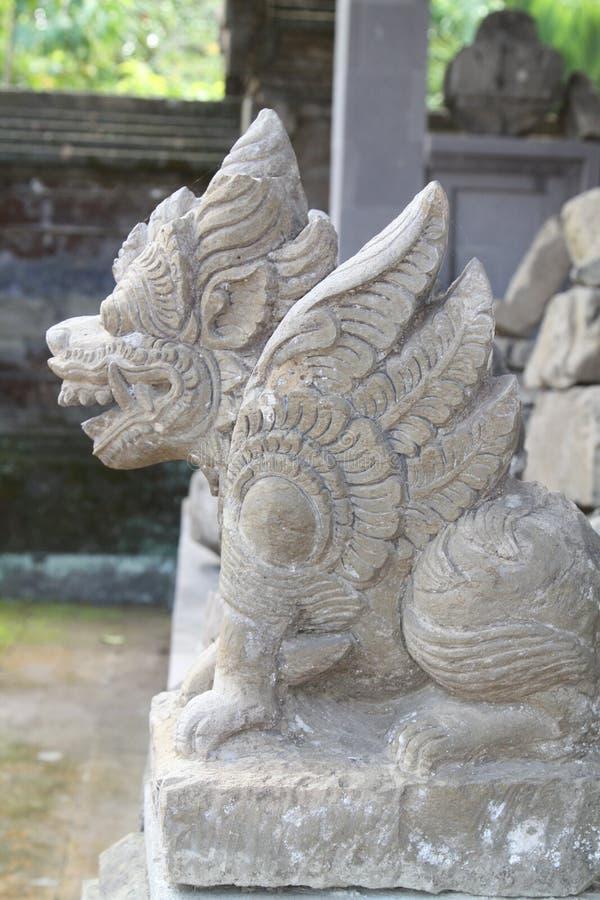 Estatua tradicional del balinese fotos de archivo