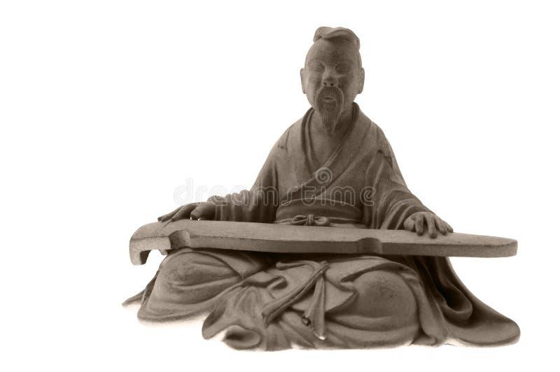 Estatua vieja del boccaro foto de archivo libre de regalías