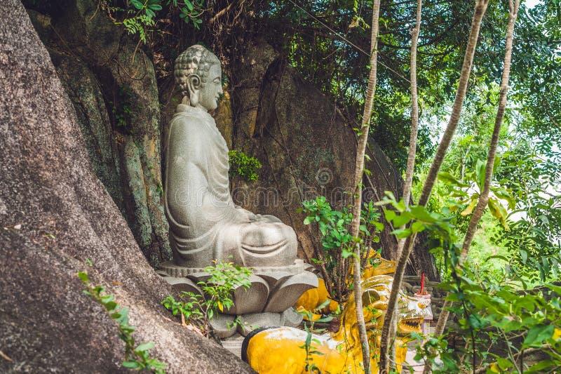 Estatua Vietnam de Buda en Nha Trang fotografía de archivo