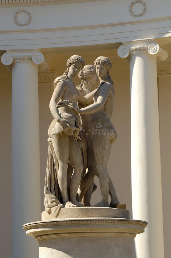 Estatuas fotografía de archivo