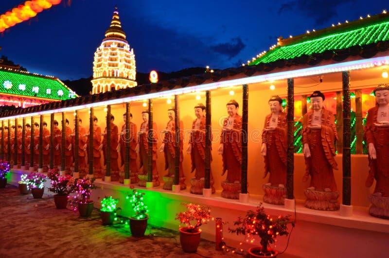 Estatuas de Buddha foto de archivo libre de regalías