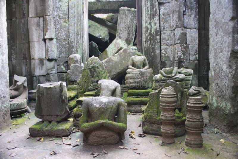 Estatuas de Buddha foto de archivo